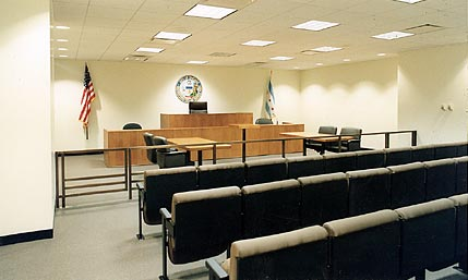 License Commission Hearing Room